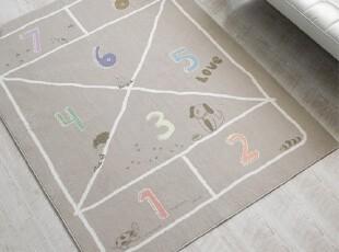 【Asaroom】韩国进口代购地毯 卡通儿童短绒爬行垫防滑垫 dc189,地毯,
