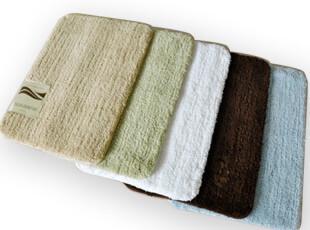 圣诞节 特价 包邮 欧式 高密度 纯色 吸水 防滑 浴室垫 地垫 门垫,地毯,