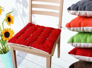 小艾家居 彩点 欧式全棉餐椅垫座垫椅垫椅子坐垫榻榻米垫布艺加厚,坐垫,