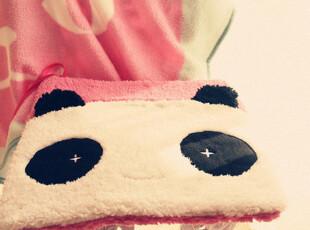 ♥ 特 温软软の羊羔绒~小熊猫系带椅垫/坐垫^^2色♥PH,坐垫,
