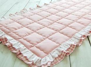 韩国进口公主木耳边长方形坐垫/地垫 加厚沙发垫*BR-FA0125,坐垫,