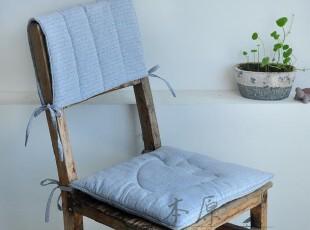 本原 亚麻布艺椅子垫 椅靠 坐垫 靠垫 沙发垫 餐椅垫夏天薄垫两色,坐垫,