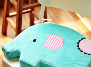 日本订单 清绿可爱小象 办公家居 靠垫/坐垫,坐垫,