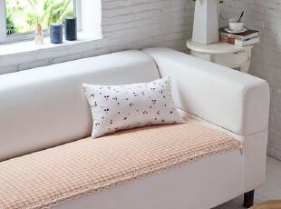 蔻姿家居新品千鸟格时尚沙发垫 欧式田园防滑沙发垫70*180,坐垫,