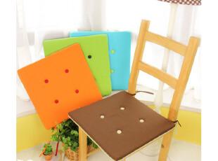 外贸夏季田园帆布椅垫餐桌椅子垫馒头垫坐垫餐椅垫双面四色,坐垫,