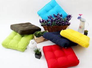 【缤纷糖果色】胖子垫 榻榻米 加厚 蒲团 坐垫 椅垫 花色可定制!,坐垫,
