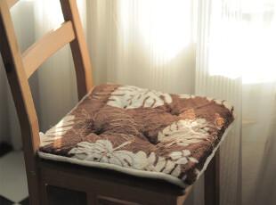 【4折特价】 超柔牛奶绒坐垫 办公毛绒椅垫 坐垫 2厘米海绵座椅垫,坐垫,