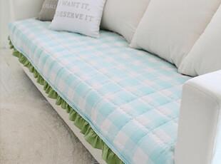 『韩国网站代购』简约纯色格纹绝搭 愉悦色泽沙发坐垫,坐垫,