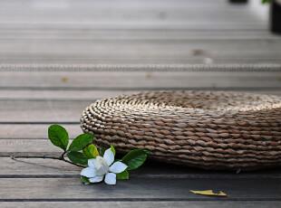 【天天特价】森系手编蒲团 打坐垫瑜伽垫禅垫 窗台垫蒲草坐垫加厚,坐垫,