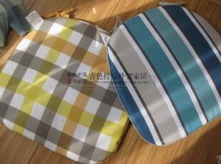 出口日本尾单 布艺防滑 餐椅垫 马蹄垫( 25- 43)*40cm  150克,坐垫,