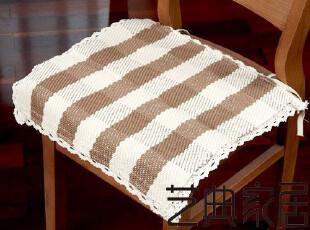 纯棉编织  坐垫 餐椅垫  办公室椅子垫 沙发扶手巾,坐垫,