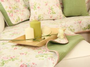 春夏新款 棉麻 纯棉 薄款 双面 沙发垫 仲夏系列,坐垫,