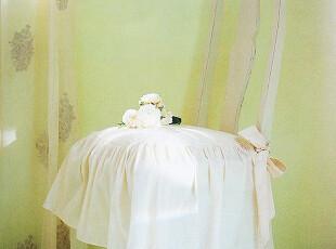 『韩国进口家居』mc-0576 蝴蝶结下垂裙边餐椅厚坐垫,坐垫,