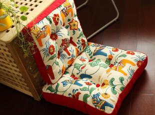 新古典 后现代 纯棉 蒲团垫 胖子垫 坐垫 椅垫 地垫 花木马系列,坐垫,