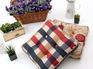 胖子垫 格子 蒲团垫 榻榻米 加厚 坐垫 椅垫 【Edin】兔先生家居,坐垫,