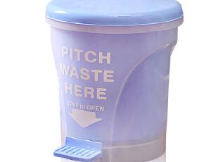 欧润哲 4L/10升塑料日式垃圾桶 脚踏式 日本可爱家用浴室时尚创意,垃圾桶,