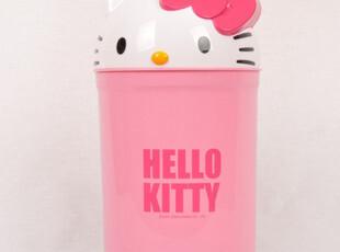 新品 正版Hello Kitty 凯蒂猫 可爱家居垃圾桶 立体垃圾桶7升,垃圾桶,