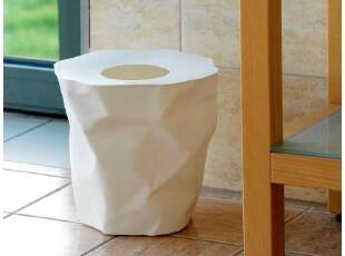 丹麦Essey Mini Bin Bin 环保褶皱纸篓/垃圾桶 小号有盖款 三色选,垃圾桶,