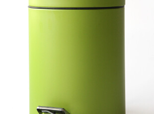 【满百包邮】*专柜正品*TAYOHYA多样屋olive不锈钢垃圾桶/绿,垃圾桶,