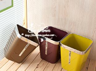 8193/8195 质感高品质卫生桶 垃圾桶 杂物桶 废纸篓 0.2/0.37,垃圾桶,