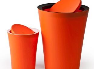 泰国 Qualy Mini Flip Bin 乐色筒/垃圾桶  小号 圆,垃圾桶,