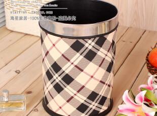 0978-23 皮革垃圾桶 时尚废纸篓 随性 途我自在 0.8,垃圾桶,