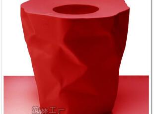 丹麦ESSEY Mini Bin Bin 褶皱纸篓/垃圾桶 (红) 05225,垃圾桶,