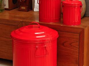 【日本原单DULTON】100-105金属垃圾桶/厨房收纳桶/装饰桶/,垃圾桶,