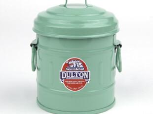 日本DULTON金属垃圾桶380ML,1L/装饰/收纳桶/绿色创意礼物 多色选,垃圾桶,
