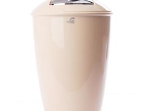 【瑞士卫浴SPIRELLA】亚特兰大 创意简约时尚 米色办公家用垃圾桶,垃圾桶,