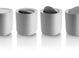 意大利 ALESSI 2010 新款 Birillo浴室系列-垃圾桶 PL10 W,垃圾桶,