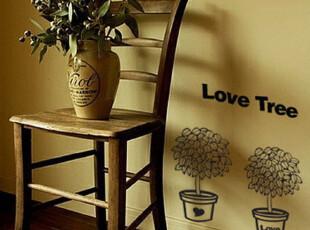 【盆载】糖糖墙贴 韩式墙贴 装潢  交换空间T,墙贴/开关贴,