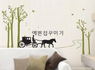 韩国进口-DIY墙贴-瓷砖贴-玻璃贴-欧式时尚背景装饰贴-爱情归来,墙贴/开关贴,