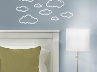 加拿大UMBRA原装正品 神马都是浮云 温馨立体墙贴九件套 创意家居,墙贴/开关贴,