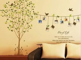特价促销客厅卧室照片墙相片墙儿童房背景墙贴墙贴纸贴画相片树,墙贴/开关贴,