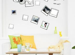 【美好回忆】四皇冠特价第三代墙贴画贴纸宜家照片墙相片相框墙,墙贴/开关贴,