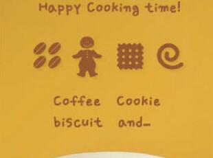 喜格格墙贴 点心 厨房儿童贴纸韩国个性客厅背景墙宜家衣柜贴画,墙贴/开关贴,