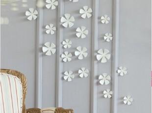 韩国代购 立体白色花朵墙贴壁贴家居装饰立体墙贴,墙贴/开关贴,