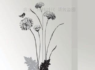 芳草芊芊*韩国进口自粘客厅卧室床头沙发背景墙贴瓷砖贴家具贴纸,墙贴/开关贴,