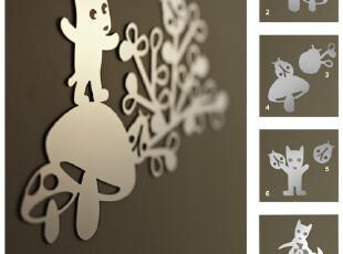 香港ZENSE正品DONDON狗狗镜面贴纸创意墙贴装饰镜贴可爱卡通包邮,墙贴/开关贴,
