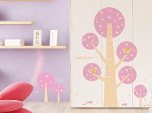 【Asa room】韩国壁贴代购卧室客厅贴纸时尚田园墙贴多色正品a528,墙贴/开关贴,