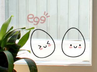 【Asa room】韩国进口代购壁贴 可爱卡通鸡蛋创意墙纸墙贴 a500,墙贴/开关贴,