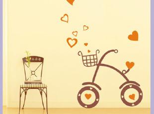 伊美尔品牌 卧室电视沙发婚房墙面装饰贴画diy自粘墙贴墙画KH6016,墙贴/开关贴,