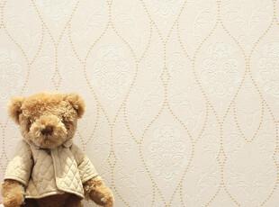 T锦尚添花 欧式田园风格墙纸 卧室浪漫温馨 客厅电视背景墙壁纸,壁纸/墙纸,