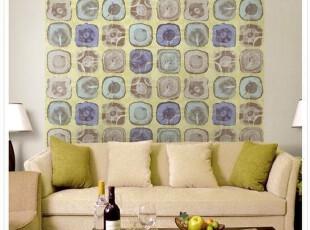 美式乡村田园.韩国进口特价.树桩年轮客厅电视沙发背景墙纸壁纸,壁纸/墙纸,