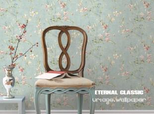 布鲁斯特墙纸 田园壁纸 彩蝶花坊Willow cottage cw71102 包邮,壁纸/墙纸,