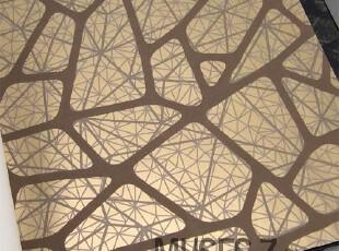 鸟巢抽象线条 现代简约风格客厅电视背景墙墙纸 家装壁纸10.6平米,壁纸/墙纸,