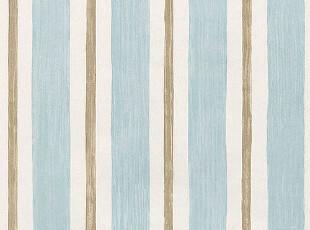 ◆新月壁纸◆北美蓝山进口墙纸满园春色地中海清爽条纹,壁纸/墙纸,