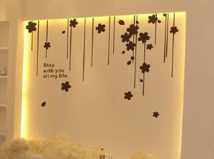 垂帘墙贴人气款特价中电视墙背景墙帖壁纸墙纸贴画,壁纸/墙纸,