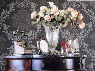 藤格先生 卧室墙纸 客厅壁纸 电视背景墙纸 无纺布 大马士革 AMG,壁纸/墙纸,